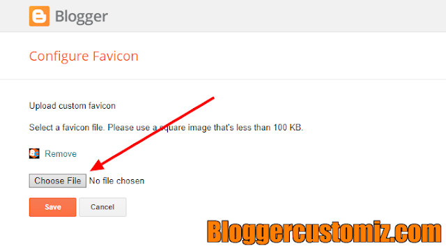 How to add a Favicon to your Blogger site/blog with the New Blogger design or interface