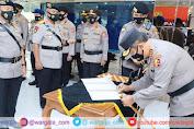 Komjen Pol Agus Andrianto Sertijabkan 5 Pejabat Utama Baharkam Polri