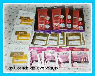 Muestras Eveline Cosmetics