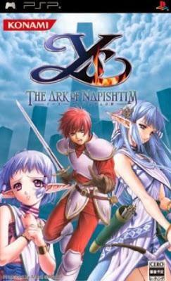 Game Ys The Ark of Napishtim PSP Iso Ukuran Kecil