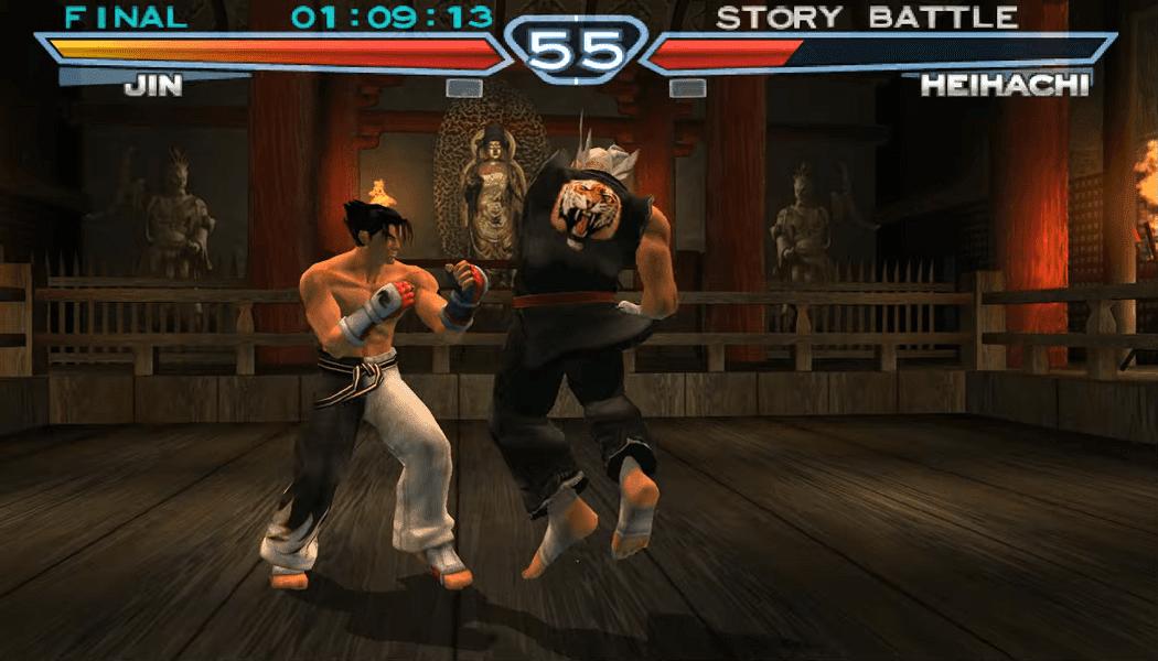 تحميل لعبة Tekken 4