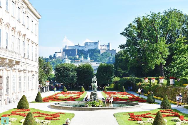 Palacio Mirabell de Salzburg, Austria