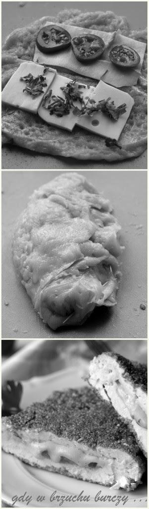 pierś kurczaka faszerowana