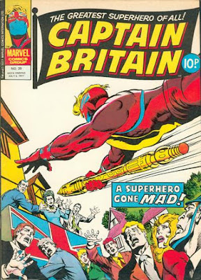Marvel UK, Captain Britain #39, final issue