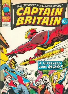 Marvel UK, Captain Britain #39, final issue
