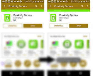 Proximity Service app