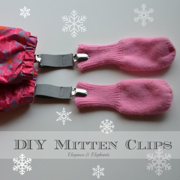 DIY Mitten Clips