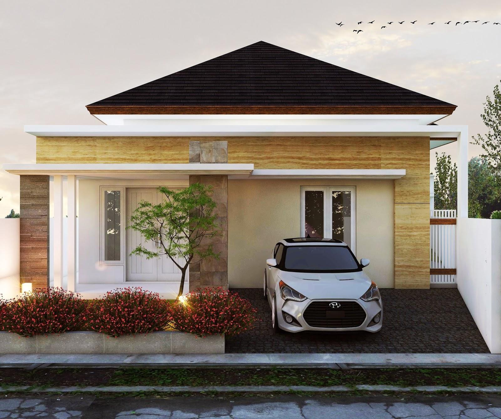 Desain Rumah 1 Lantai Lebar 7 M Type 150 Milik Bu Irmawati Makassar Jasa Desain Rumah