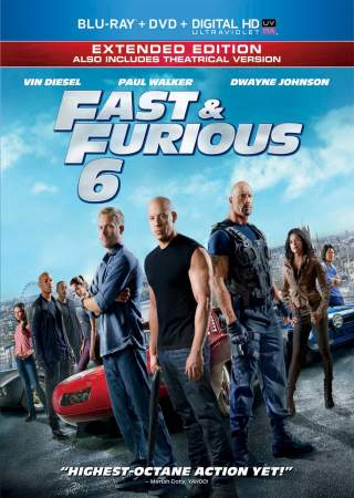 Fast & Furious 6 2013 Dual Audio Hindi 450MB BluRay 480p