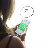 Apa Arti Pm, Tc, Pc, Vc, Ping di WhatsApp