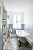 Great bathroom tiles for cottage bathroom design