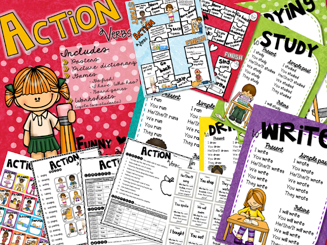 https://www.teacherspayteachers.com/Product/Action-Verbs-Poster-Set-Games-Worksheets-2805523