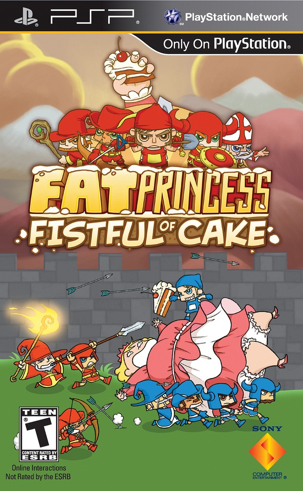 Fat Princess - Fistful of Cake - PSP - ISO Download