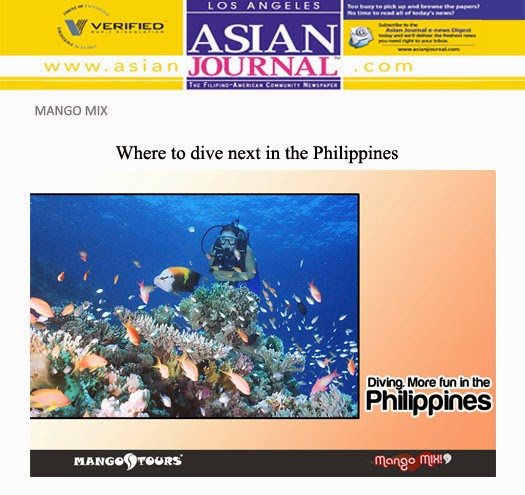 Mango Tours Asian Journal Mango Mix Diving in the Philippines