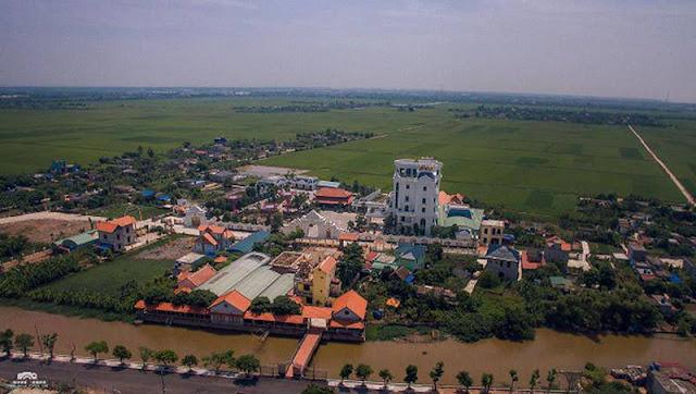 Lâu đài nguy nga của đại gia Thái Bình - CT Công ty Xăng Dầu Phát - Petraco