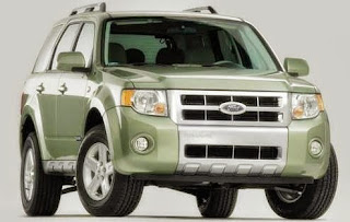 2008 Ford Escape Hybrid Sport Utility 4d MPG