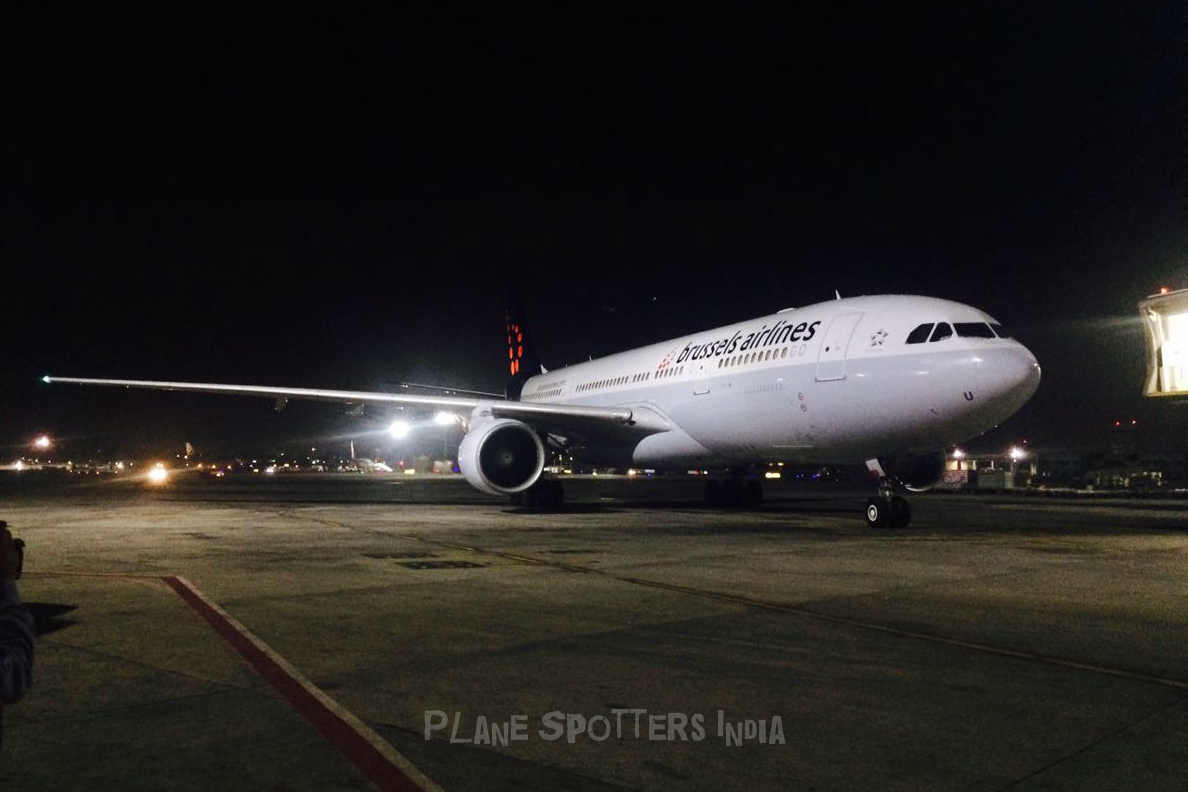 Brussels Airlines First Flight To Mumbai Plane