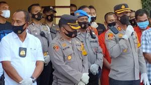 Edarkan Narkoba, Polisi Tangkap RM di Tuk-tuk Samosir