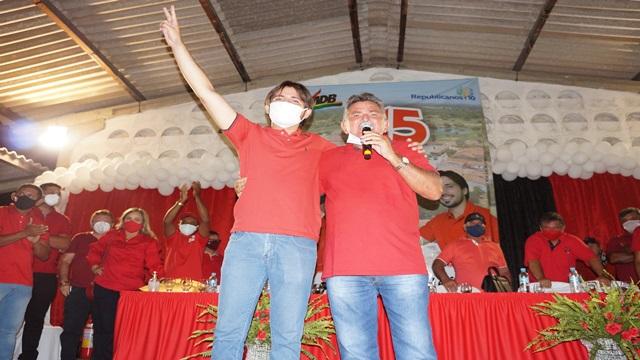 Emoção, alegria e confirmação marcam a convenção do MDB-Republicanos em Cacimba de Areia