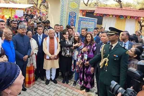 president-ramnath-kovind-inaugurate-surajkund-mela-2020-faridabad