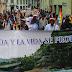 """POBLACIONES DEL NOROCCIDENTE DE PICHINCHA Y A NIVEL NACIONAL REALIZARON MARCHA DENOMINADA """"POR LA VIDA Y EL AGUA"""""""