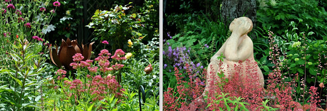 Blütenfülle in den offenen Gärten