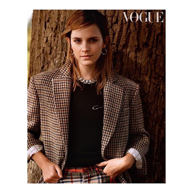 Emma Watson estampará a capa da Vogue britânica de dezembro e diz que está muito feliz solteira | Ordem da Fênix Brasileira