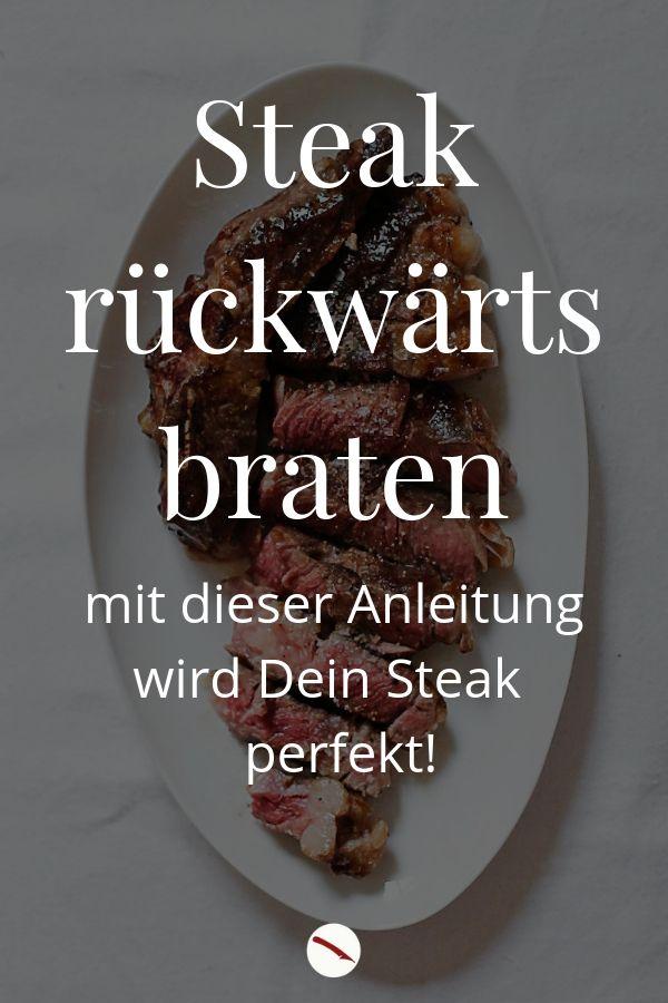 So gelingt Dir das perfekte Steak: Mit Rückwärtsbraten ganz leicht den richtigen Garpunkt erreichen und butterzartes Fleisch in der Pfanne braten. #steak #beef #rumpsteak #ribeye #entrecote #rezept #tips #pfanne #zart #anleitung #braten #tipps #backofen #ofen #zeit #minuten #temperatur #beilagen #gerichte #soße #grillen #deutsch #gesund #einfach #schwein #rind #kalb #italienisch #tagliata #di_manzo #rucola #grillpfanne #eisenpfanne #foodphotography #foodblogger #fleisch