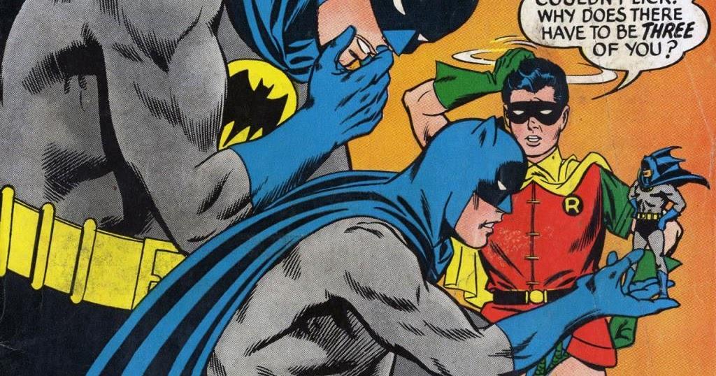 """O DIA EM QUE: SURGIRAM TRÊS BATMEN!!! """"UM É POUCO, DOIS É BOM ...E TRÊS?"""" E COM TAMANHOS DIFERENTES!?!?"""