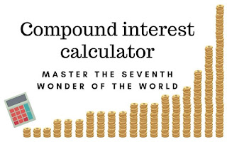 use the compound interest calculator to calculate the compounded growth of your initial capital and monthly savings