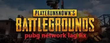 pubg network lag fix