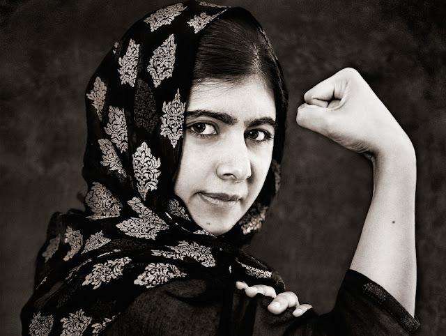 Malala Yousafzai, Prêmio Nobel da Paz - Foto Albert Wiking
