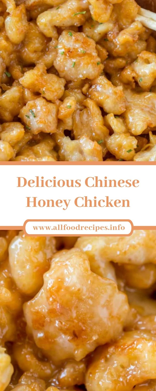 Delicious Chinese Honey Chicken