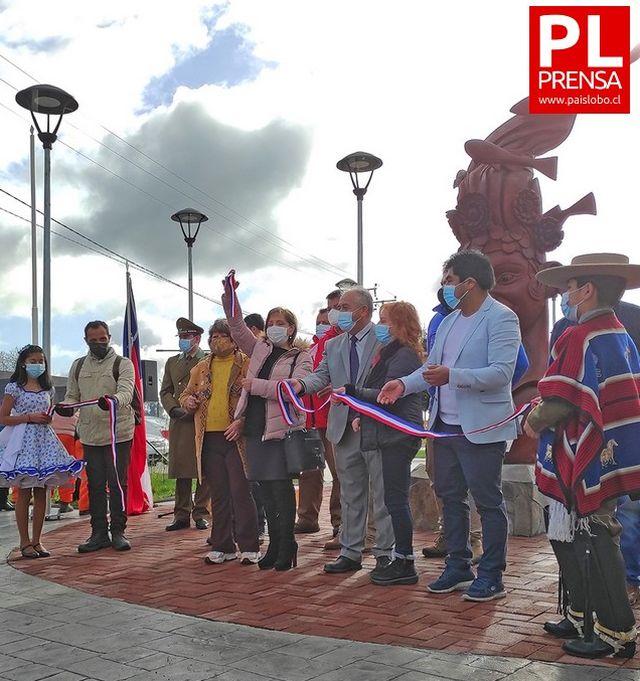 Inauguran Plaza Jardín del Lago