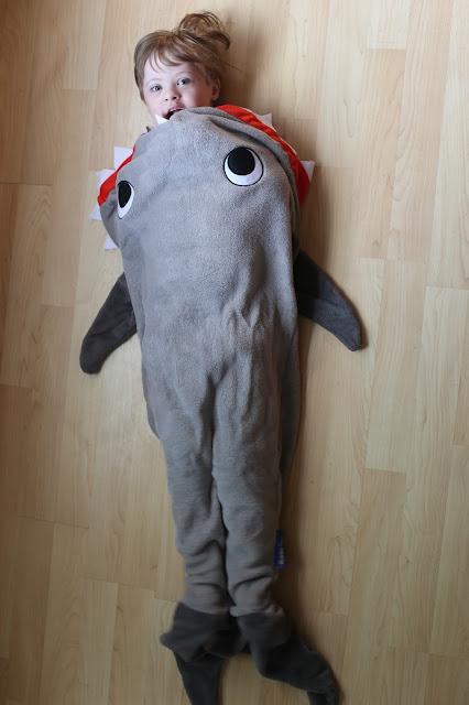 Shark Blankie Tails