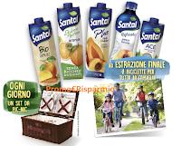 Logo Santal - assapora la frutta: vinci 119 set da Pic-Nic e 1 set di 4 biciclette per tutta la famiglia