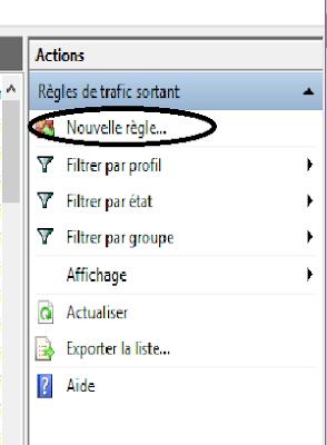 Empêcher un logiciel d'accéder à Internet - Windows toutes versions