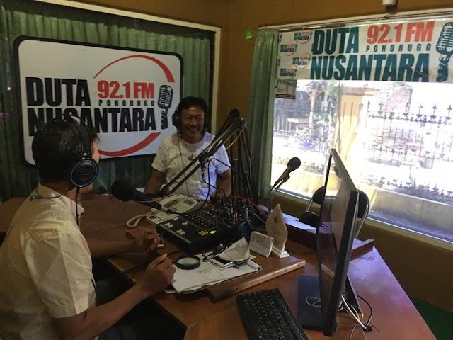 Talk Show HAORNAS Ketum KONI Radio Duta Nusantara