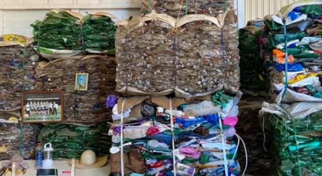 Mato Rico: Meio Ambiente coleta mais de 7 mil quilo de material reciclável