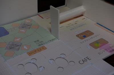 生坂村の古民家カフェ・ひとつ石 設計の打ち合わせ