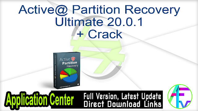 Active@ Partition Recovery Ultimate 20.0.1 + Crack