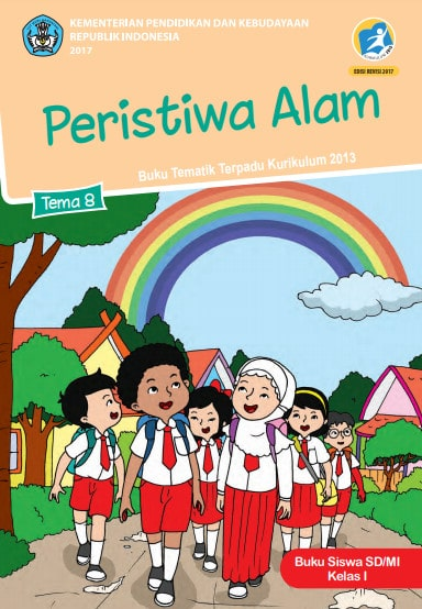 Buku Siswa Tema 8 Kelas 1 Revisi 2017 Kurikulum 2013