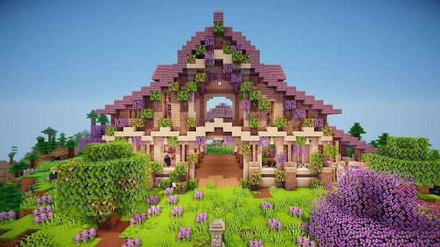 Minecraft Barn Ideas And Designs | Cute Barn In Minecraft