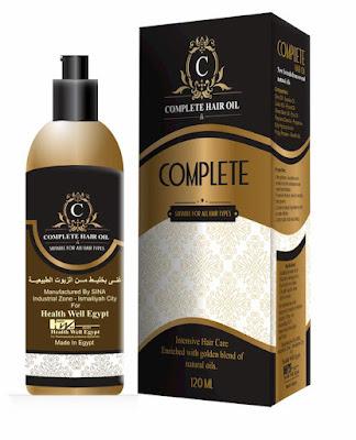 زيت كومبليت الطبي (complete hair oil)