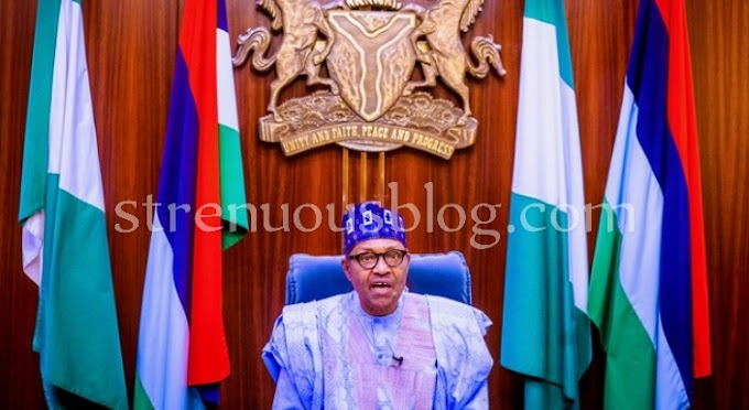 Full Speech of Buhari's address on #EndSARS protests
