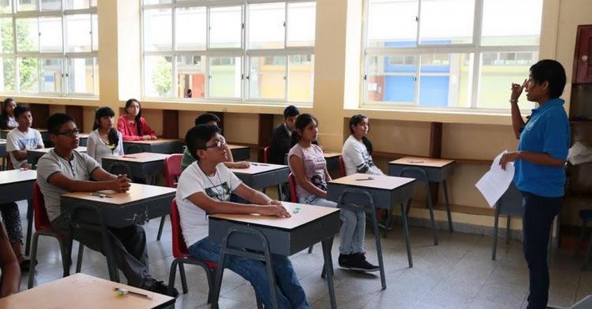 COAR - ADMISIÓN 2019: 30 mil escolares rendirán prueba de conocimientos el 16 de febrero