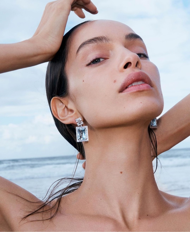 Luma Grothe Is a Natural Beauty in Hardy Brothers Jewelry Campaign