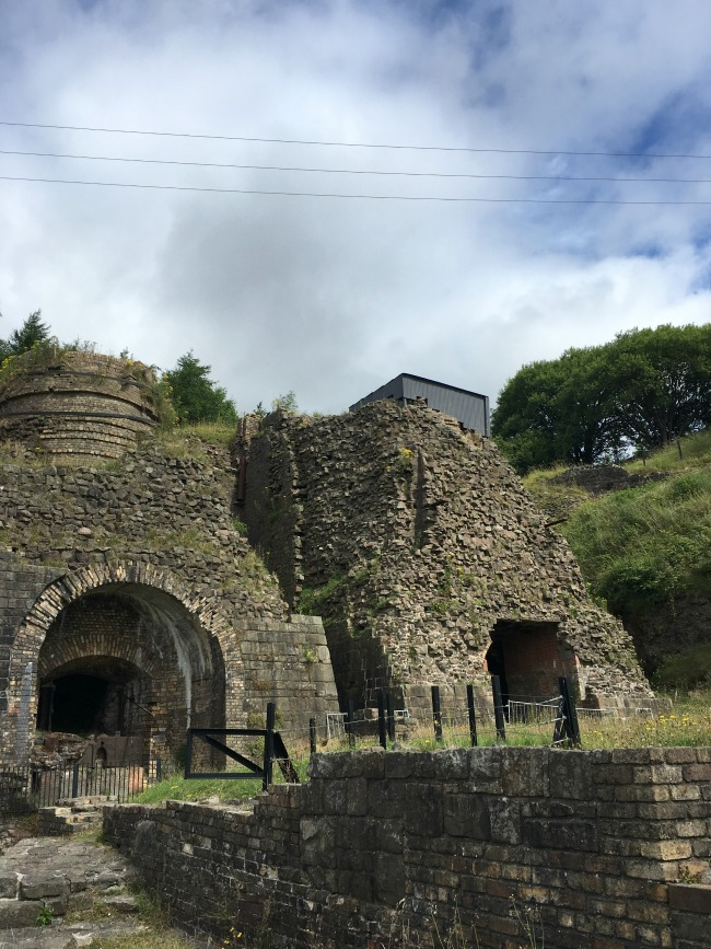 Blaenavon-Ironworks-two-furnaces