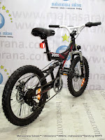 20 Inch United TMS3080 Full Suspension Junior Mountain Bike