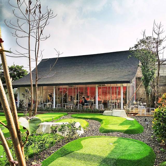 Mini Golf di Bintaro Tangerang Selatan